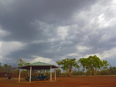 A proper Kimberley storm!