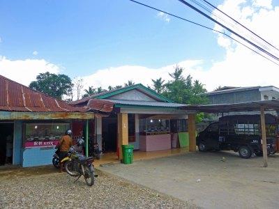 My chosen warung (small restaurant)
